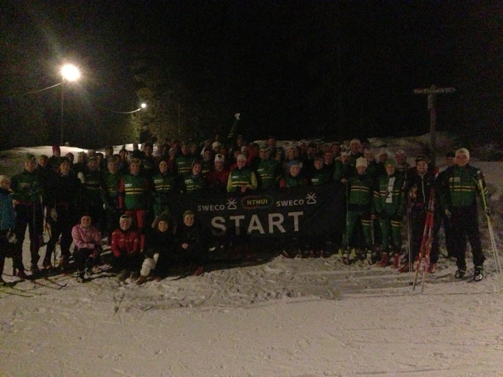 Sprek gjeng som nettopp har unnagjort Tour de Swecos første etappe